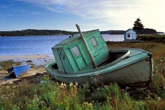 beached-boat