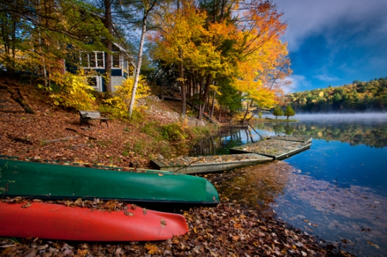 vermont-lake-canoes