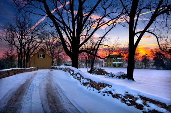 quarry-road-snowscene