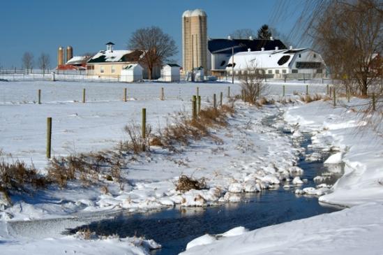 school&farm-snowscene