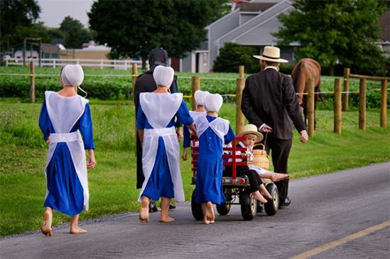amish-family-blue-attire