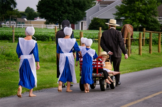 amish-family-blue-attire
