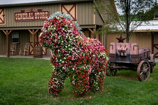 flower-horse