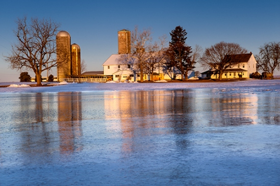 manheim-icy-farm-reflection
