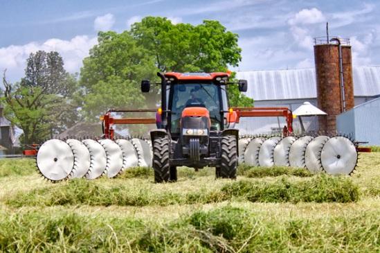 raking-hay