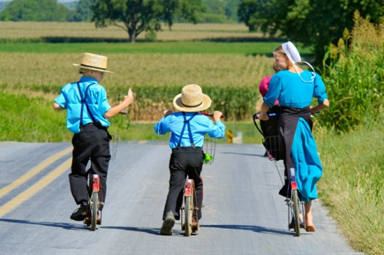 amish-scooter-drag-race